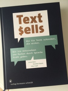 Da hat man es nicht nur schwarz auf weiß: Text sells.